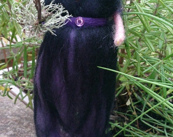 Wool Felt Fairy  - Bracken Witch