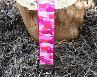 Key Fob Wristlet - Think Pink NEW!