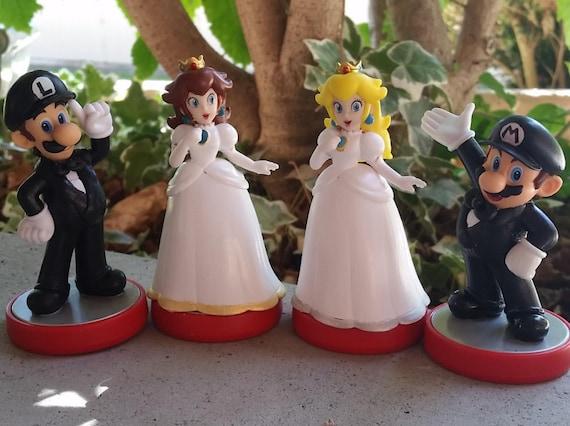 Custom Amiibo Super Mario Bros Video Game Wedding Cake Toppers ...