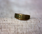 Ancient ring. Vintage ring. Archaeological find. Internal diameter 19 mm.