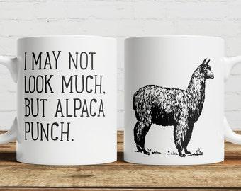 Alpaca Punch Coffee/ Tea Mug