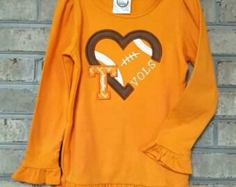 Tenneessee Tshirt | UT Vols Shirt | Tshirts | Monogrammed TShirt | Monogrammed Vols | Ladies Tshirt | Girls Tshirt | Tennessee | TN Vols