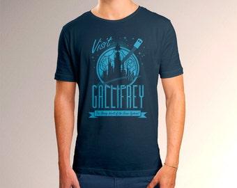 "Doctor Who ""Visit Gallifrey"" Men's T-Shirt"