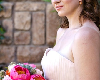 Bridesmaid Headband with Pearls