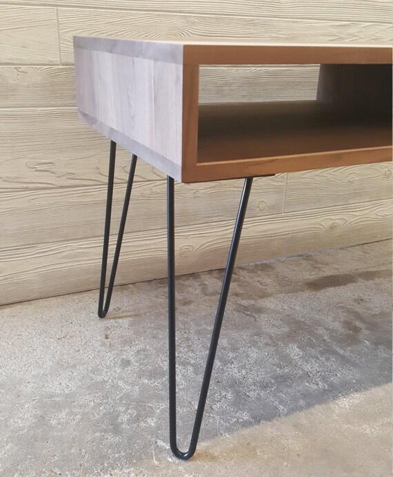 Handmade Mid Century Coffee Table: Mid-Century Modern Handmade Walnut Coffee Table By
