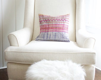 Baby Boho Kidney Pillow made of Antique Batik