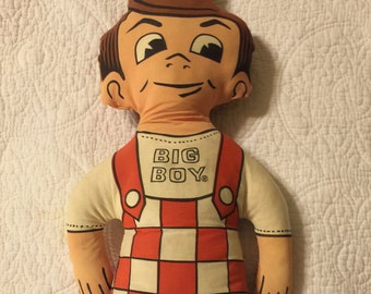 Collectible Bobs Big Boy Cloth Doll