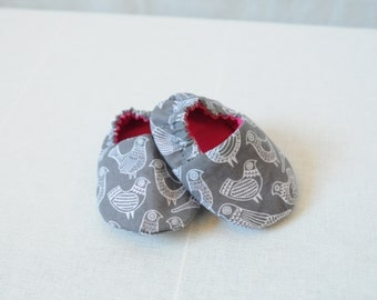 Birdy Baby Shoes/ Crib Shoes/ Baby Booties