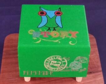 Story: Keepsake/Jewelry Box