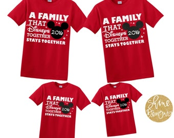 A Family That Magicals Together Stays Together - Magical Family Shirts - Magical Vacation Matching Family Shirts