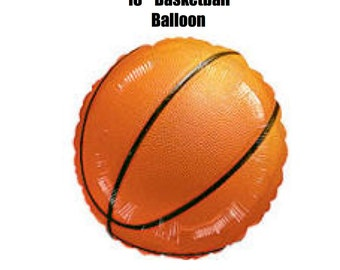 Basketball Balloon.....Sport balloon.....Foil Balloon....March Madness.....Final 4.....NBA.....NCAA.....