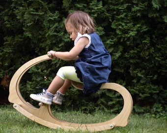 Wooden Rocking Horse for kids, Wood, Gift for Kids, Wooden Eco friendly children toy