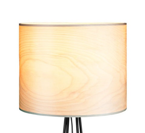 Floor Lamp Wood Lamp Veneer Lamp Shade Lamps