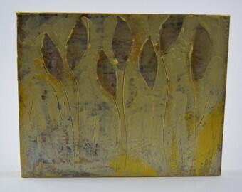 Hidden Light - an 8x10 encaustic piece