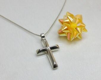 925 Silver cross pendant SK201