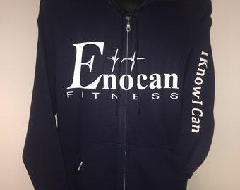 ENOCAN Men Classic Zip Hoody