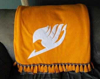Fairy Tail Fleece Blanket