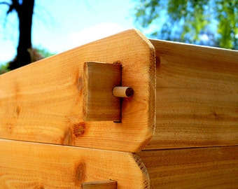 TWO 6x6 Cedar Raised GARDEN BEDS Raised Planter Vegetable