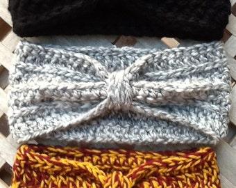 Chunky Crochet Headbands