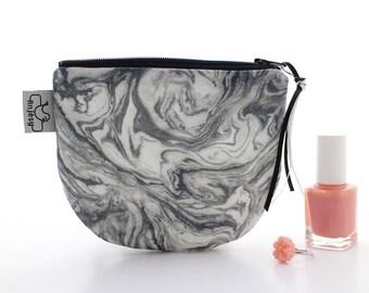 Marble Zipper pouch,Marble Coin purse,Original ANJESY Designs.