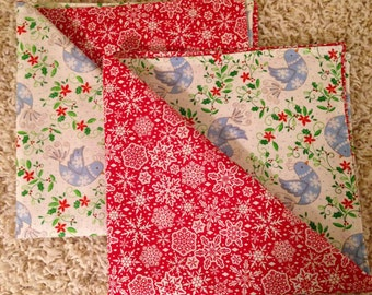 Christmas Fabric Napkins (set of 2)