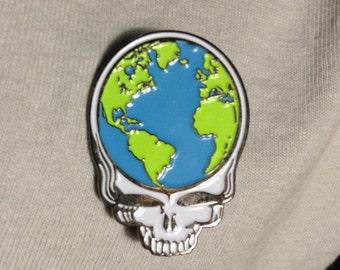 Very Cool Grateful Dead Earth Pin