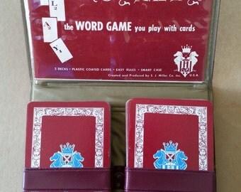 Vintage Royalty Card Game. Vintage Game Of Royalty - Vintage Royalty Word Game By S.J. Miller