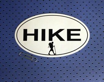 Hike Bumper Sticker