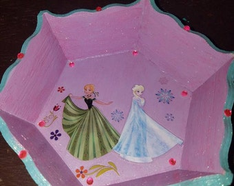 Jewelry Tray Frozen Room Decor
