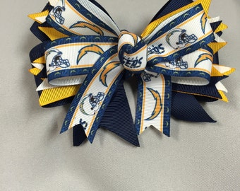 San Diego Chargers Hair-Bow