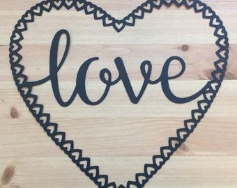 Love Heart Papercut