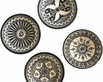 SAFI appetizer plates - set of 4