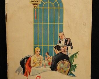1932 Lea & Perrins Success for Seasoning Recipe Booklet