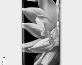 iPhone Case - Dahlia - black & white - Smartphone Case - iPhone Case for Iphone 5, 5s, 5c, 6 und 6 Plus