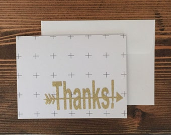 Greeting Cards | Thank You Card | Plus Sign