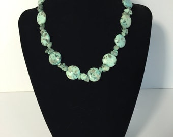 Speckled Stone Necklace