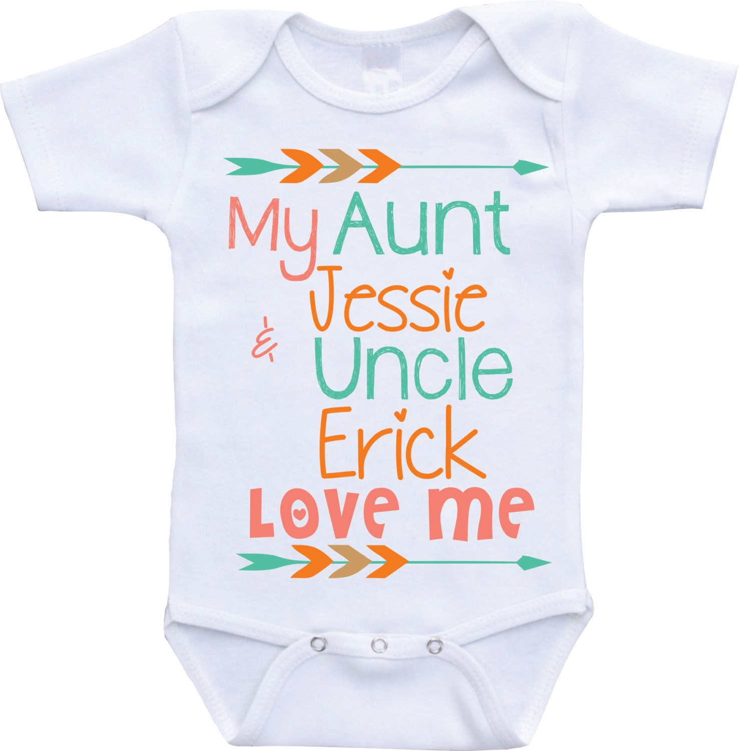 aunt and uncle onesies my aunt and uncle love me aunt baby. Black Bedroom Furniture Sets. Home Design Ideas