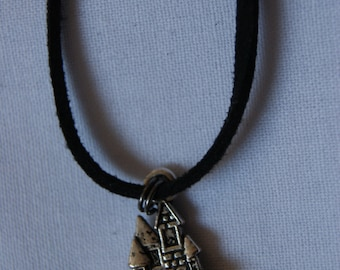 Fairy Tale Castle Choker Necklace.