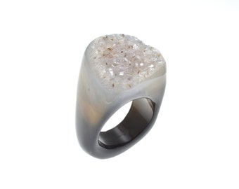 Size 6.75 Agate Ring