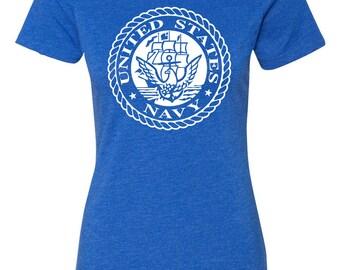 United States Navy Women's Shirt Design