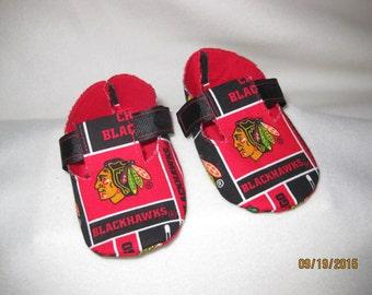 Chicago Blackhawks Baby Shoes