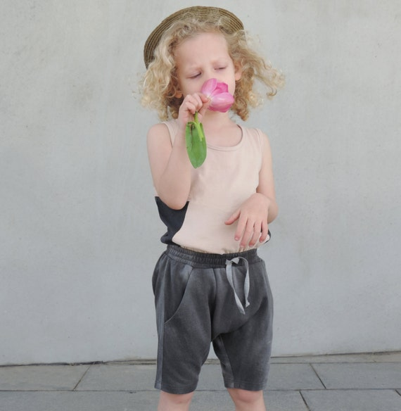 Girls Tank, Toddler Tank Top, Girls Top, Toddler Summer Clothing, Hipster Girls Fashion, Toddler Fashion, Grey And Nude Cotton, SALE