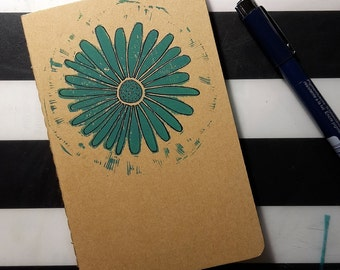 """notebook A6 """"flower"""""""
