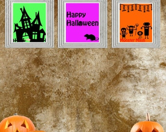 Printable Halloween 8x10 decor