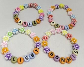 Little Girls Name Bracelets