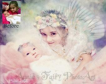 Custom Fairy Portrait from YOUR photo
