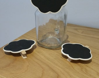 Mini Chalkboard Peg Clip - Cloud shape