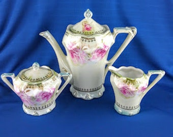 Elegant Lefton Tea Set