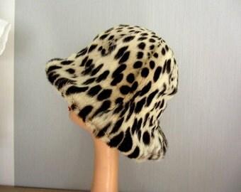 Hat toque fur vintage ref 12010
