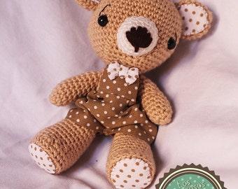 Joselito Teddy (amigurumi) plush crochet